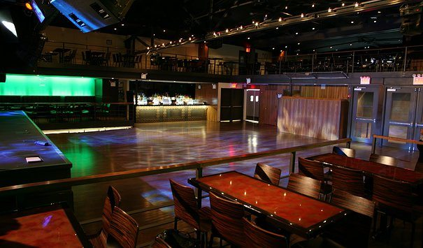 Main area of Highline Ballroom in preparation for a concert
