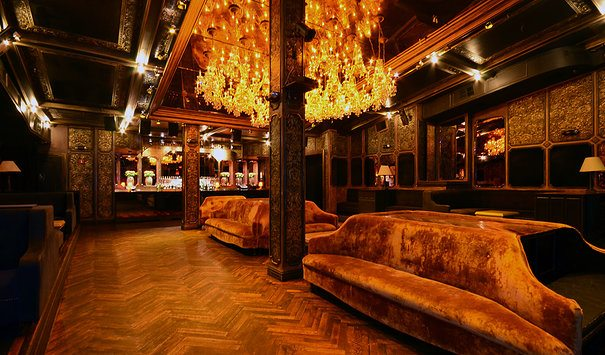 Main Seating area at Griffin in NYC