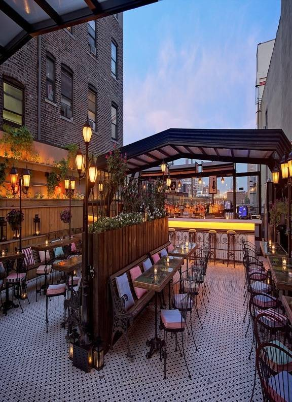 Best lounges in nyc nyc birthday party venues for Open terrace restaurants