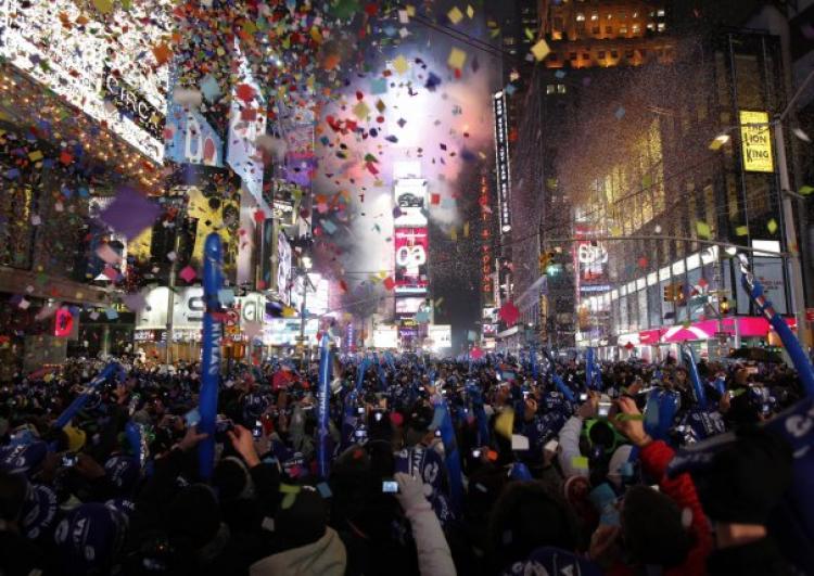 NYE 2015 in NYC
