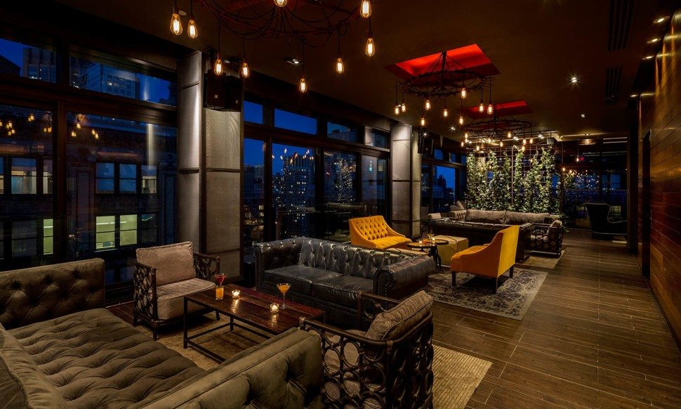 Pool Bar Terrace at the Gansevoort Park NYC